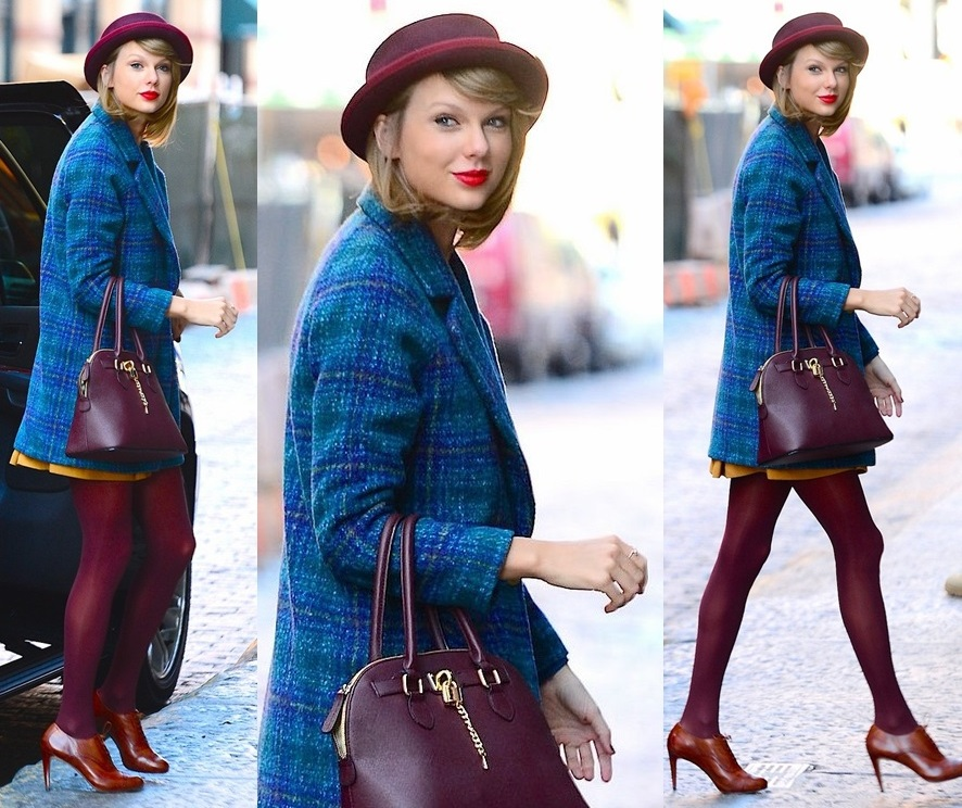 Taylor Swift is a fashion sensation as returns to her New York pad