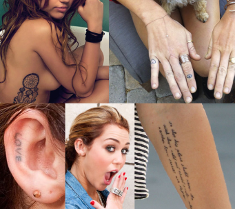 tatoo miley