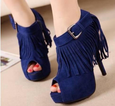 Sapato com Franja