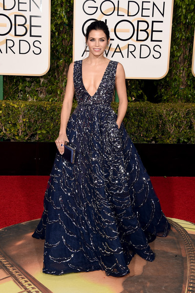 Golden Globe Awards Jenna Dewan-Tatum em Zuhair Murad